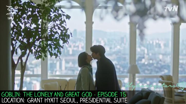 goblin drama location grand hyatt seoul presidential suite